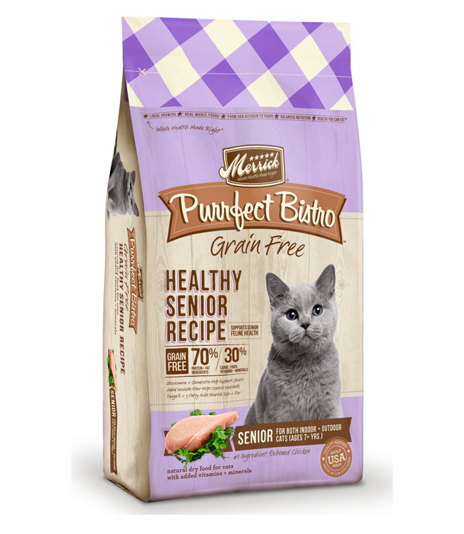 high protein diet for senior cats
