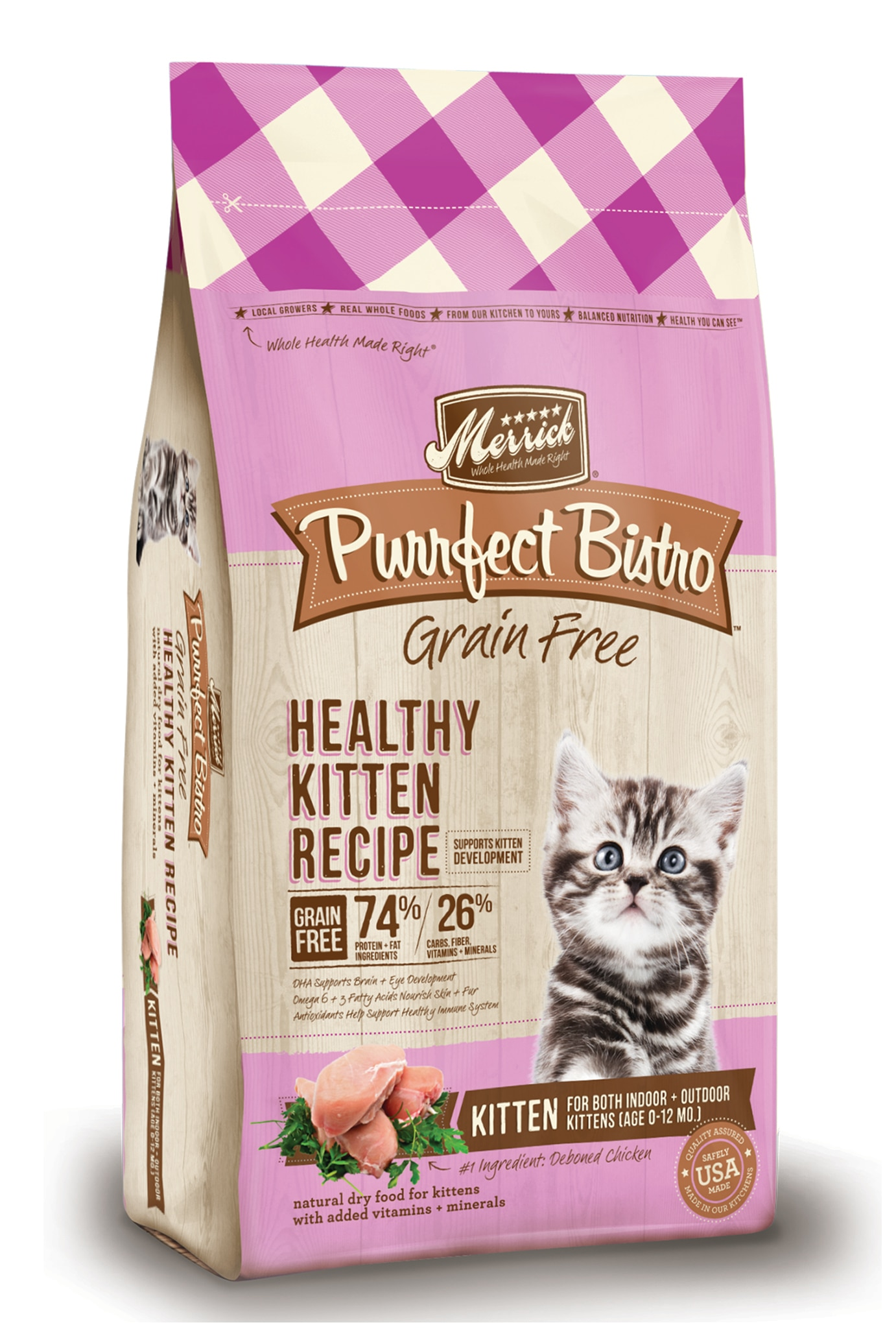 Grain Free Kitten Food Purrfect Bistro Grain Free Kitten Recipe